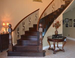 Wood Stairway 2