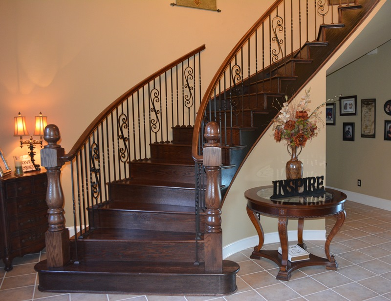 Our Stair Department Can Expertly Transition Your Carpeted Stairway To  Beautiful Hardwood Stair Treads And Risers